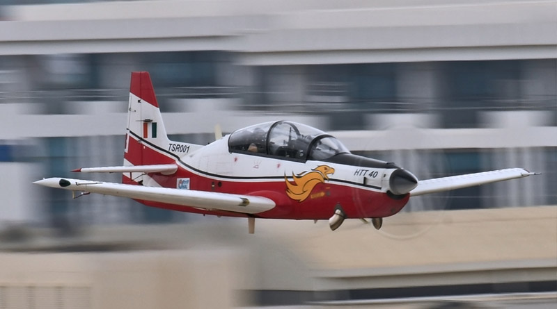 HAL's HTT 40 Trainer Aircraft Undergoes Spin Testing