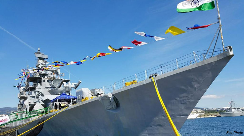 INS Rana Visits Singapore Ahead of Bilateral Exercise