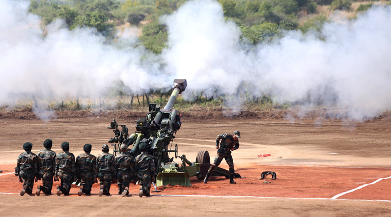 Indian Army Inducts M777 Ultra-Light Howitzers
