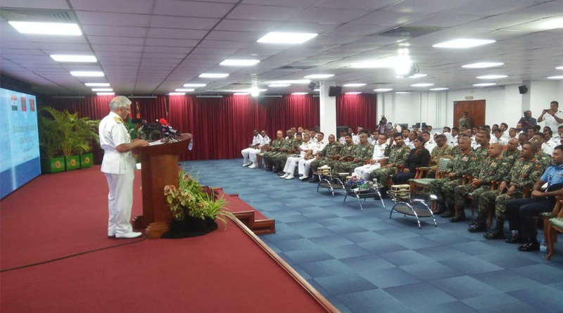 Indian Maldivian and Sri Lankan Coast Guards Exercise Together