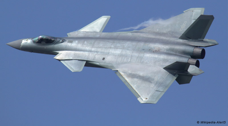J-20 at Airshow China 2016 © Wikipedia-Alert5