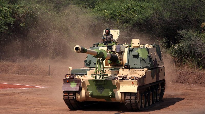 Induction of K-9 Vajra guns boosts India's defence capability