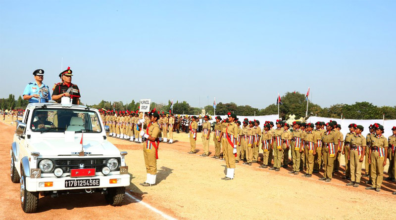 NCC Celebrates Raising Day