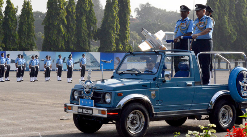 Passing Out Parade Held at Air Force Technical College