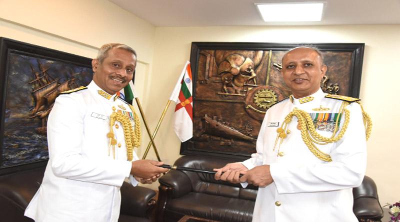 RAdm. Kiran Deshmukh assumes charge as Admiral Superintendent Naval Dockyard