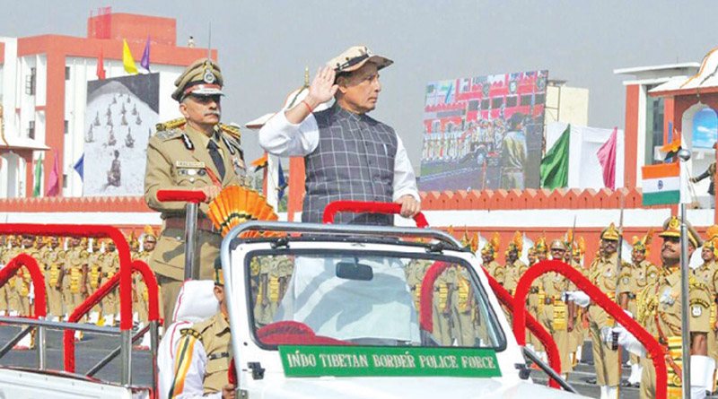 Home Minister Rajnath Singh Attends ITPB Raising Day
