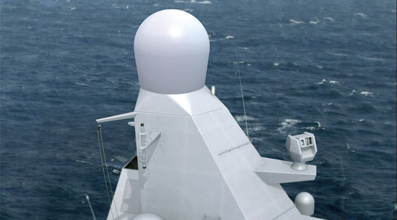 Thales Introduces NS50, First 4d Aesa Radar for Small-Platform Naval Market