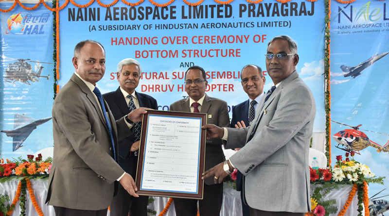 Naini Aerospace Limited Delivers First Batch of Helicopter Structures