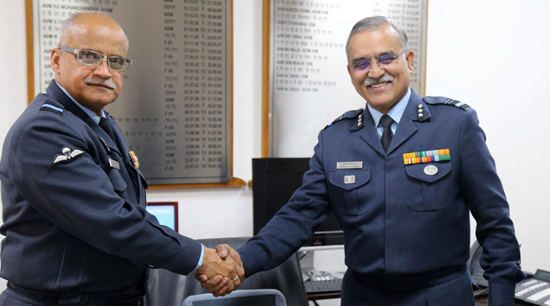 Western Air Command Admin Officer Hands Over Mantle to Successor