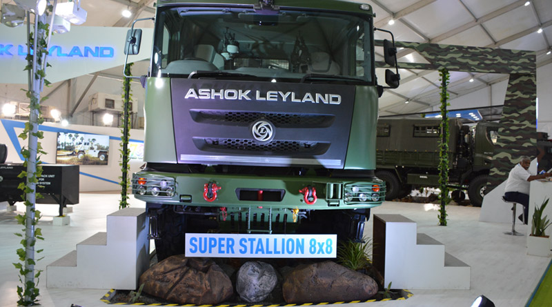Ashok Leyland Signs Mou with ELBIT Systems