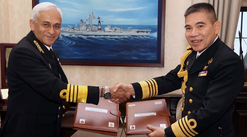 Chief of Royal Thai Navy Visits India