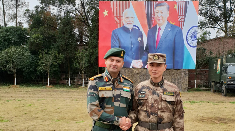 Sino-India Joint Exercise Hand-in-Hand 2018 Begins