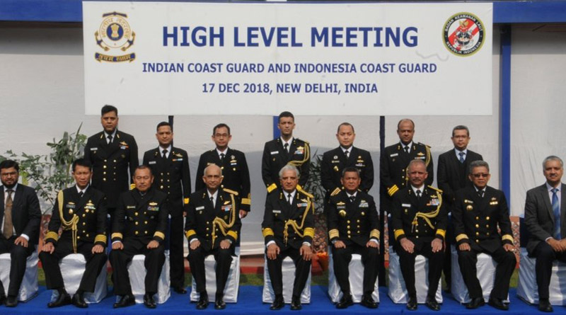 First High-Level Meeting Between Indonesian and Indian Coast Guard