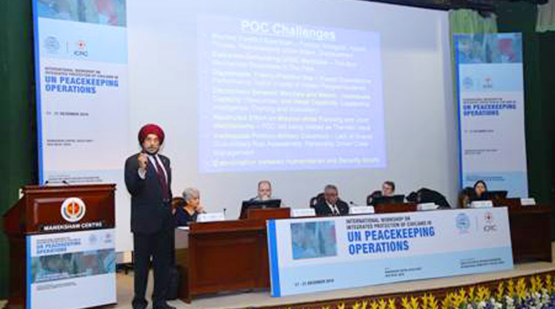 International Workshop on Integrated Protection of Civilians (IPOC) in UN Peacekeeping Operations