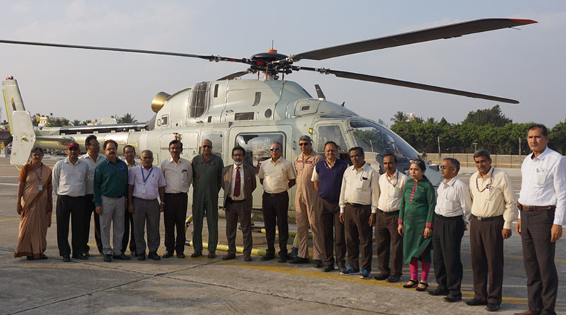 Third Prototype of HAL-built LUH makes Maiden Flight