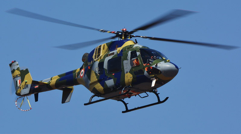 HAL's Light Utility Helicopter Clears 6-km Flight Test