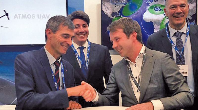 Naval Group and Atmos UAV sign a Letter of Intent for UAV's