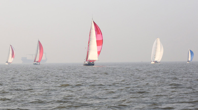 WNC Golden Jubilee Maiden Ocean Sailing Race Flagged Off