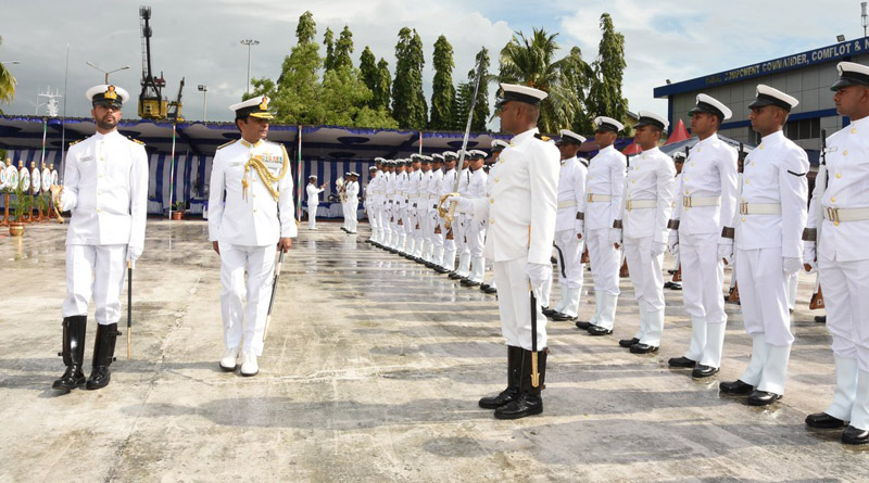 Fifth Ship of Landing Craft Utility Mk-IV 'IN LCU L55' Commissioned in Port Blair