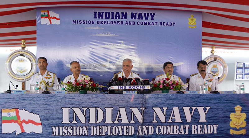 Indian Navy Focused on Maritime Security, says FOC-in-C (West)