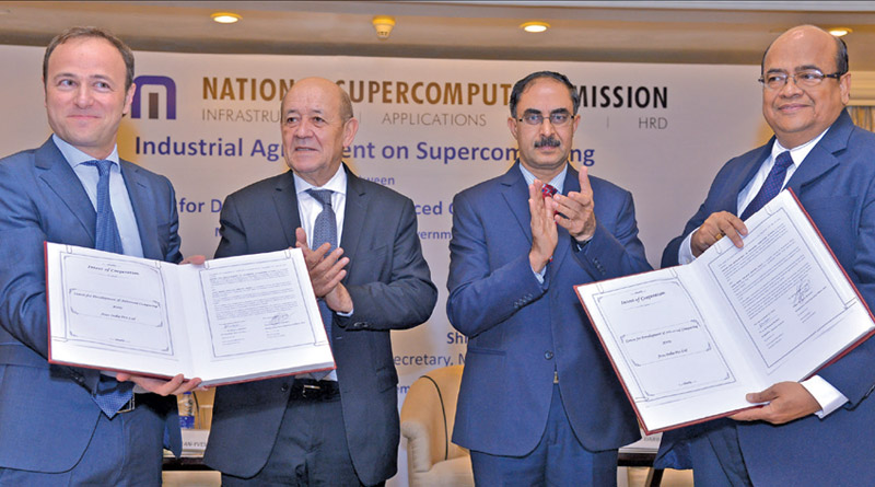 Atos and GoI Signs Contract to Support National Supercomputing Mission