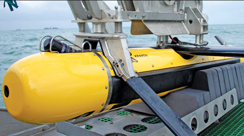 Elbit Systems' Seagull USV Completed Sea Tests with Kraken's KATFISH Sonar