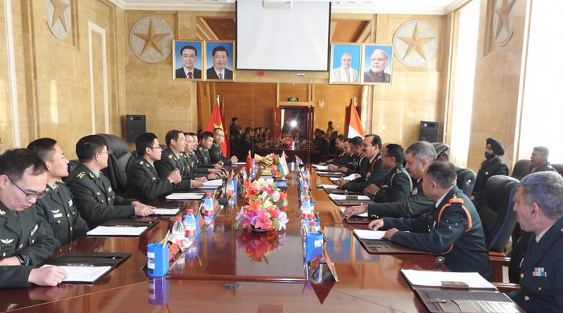 Indo-China Border Personnel Meeting in Ladakh