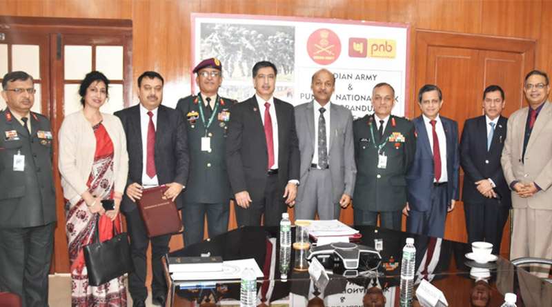 Mou Signed Between Indian Army and Punjab National Bank