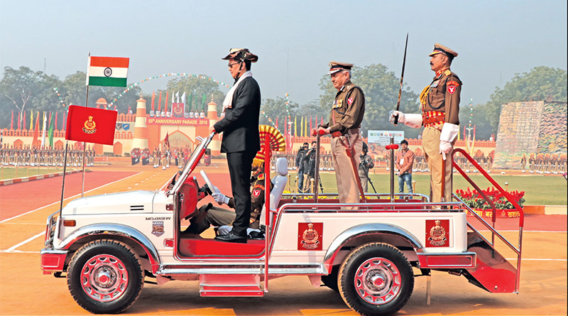 Sashastra Seema Bal's 55th Raising Day Celebrations