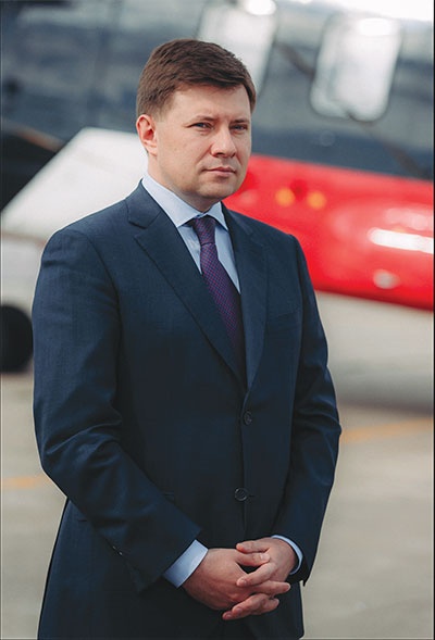 Chief Executive Officer, Russian Helicopters, Andrey Boginsky