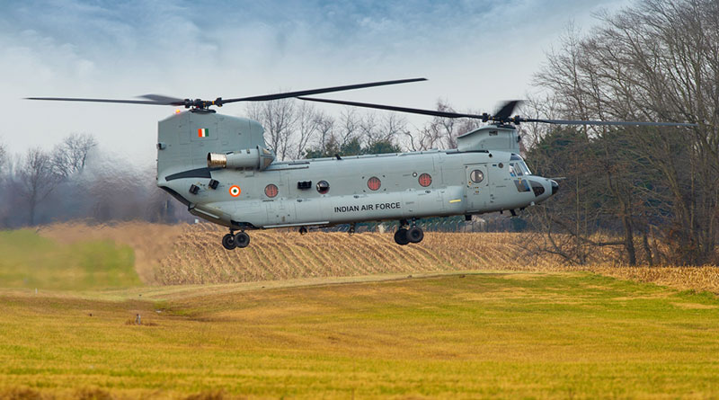 First Batch of Chinooks Arrive in India