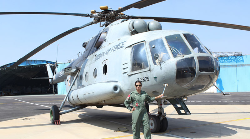 Indian Air Force Inducts First Woman Flight Engineer