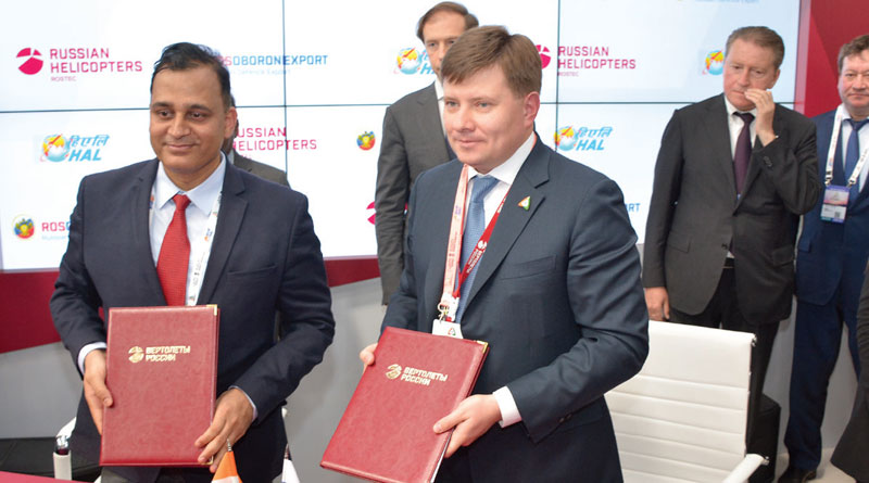 Russian Helicopters sign MoUs for Ka-226T