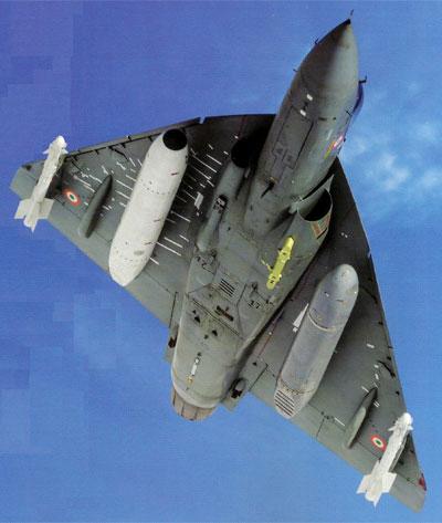 Tejas Mk1 in flight