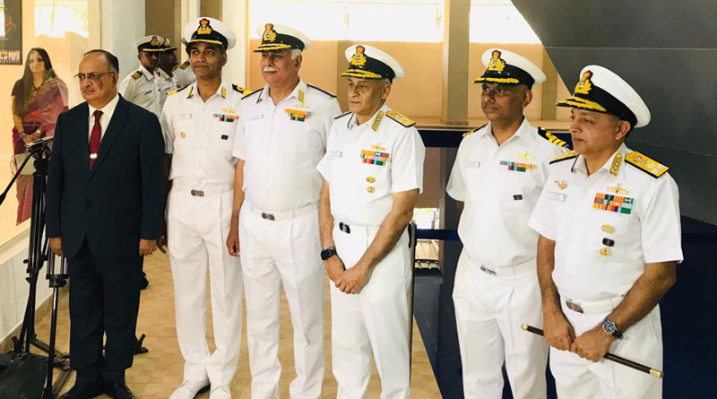 Admiral Sunil Lanba Launches Nuclear, Biological, Chemical Training Facility