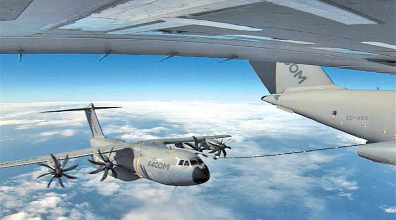 Airbus Certifies A400M Cargo Hold Tanks Refueling unit
