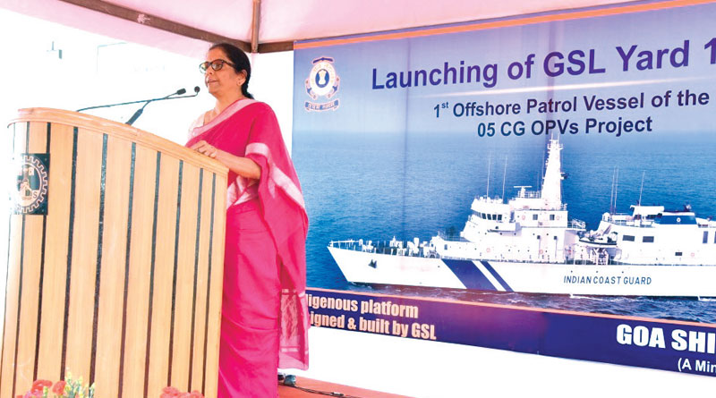 Defence Minister Launches OPV Sachet for ICG
