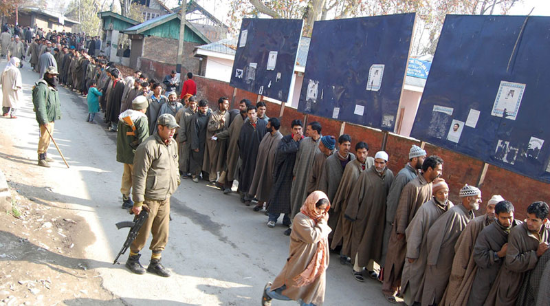 Elections in Kashmir