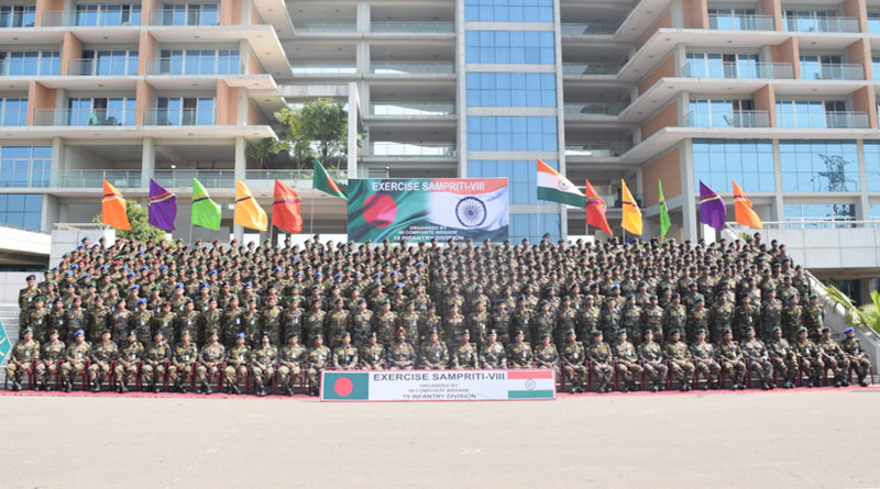 India-Bangladesh Begin Exercise Sampriti 2019