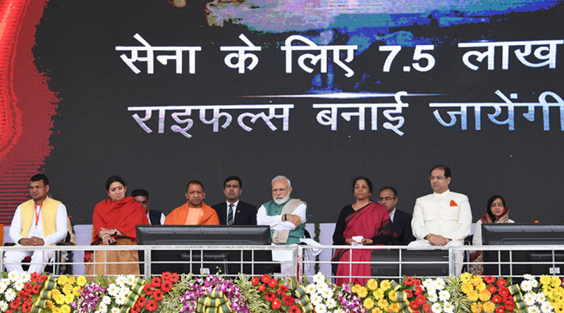Modi Inaugurates Indo-Russian JV to Produce AK-203s