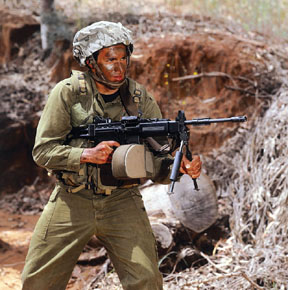 All para SF soldiers will now carry the Israeli Tavor-21