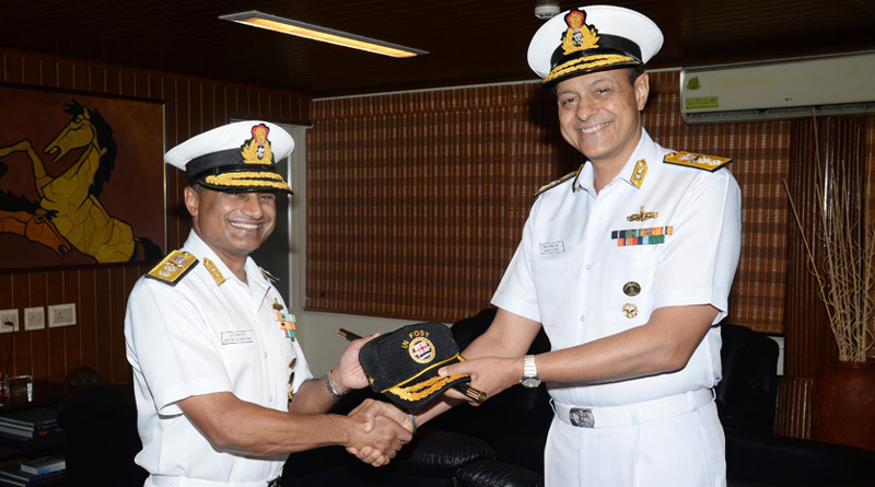 Navy Gets a New Flag Officer Sea Training