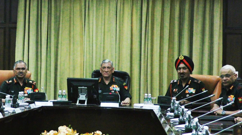 Army Commanders' Conference Discusses Security Issues, Pushes for Modernisation