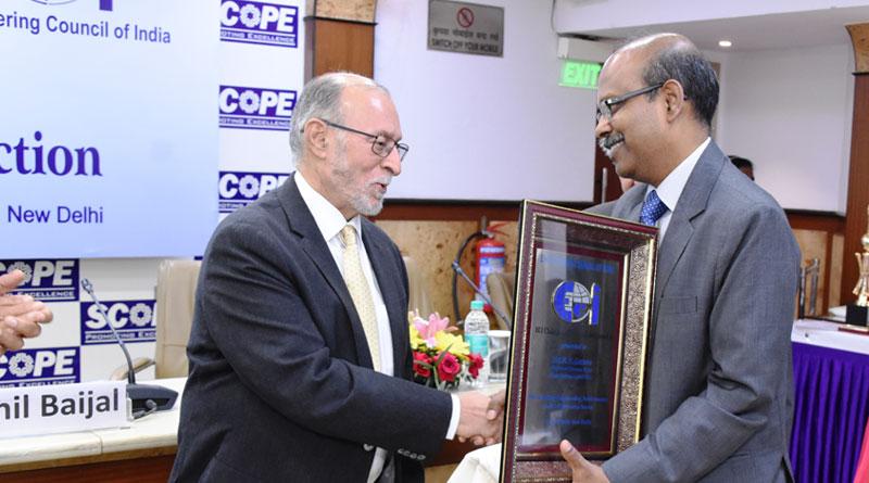 BEL CMD wins Distinguished Engineer Award