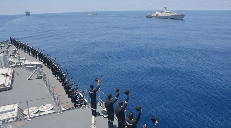 India, Vietnam Conclude Joint Bilateral Maritime Exercise