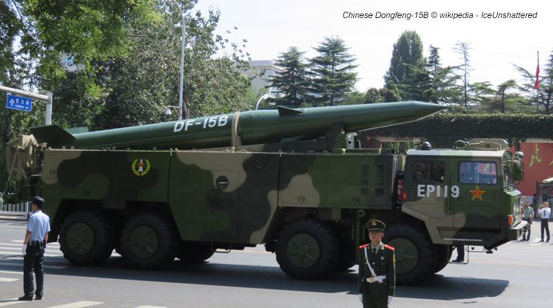Chinese Dongfeng-15B © wikipedia - IceUnshattered