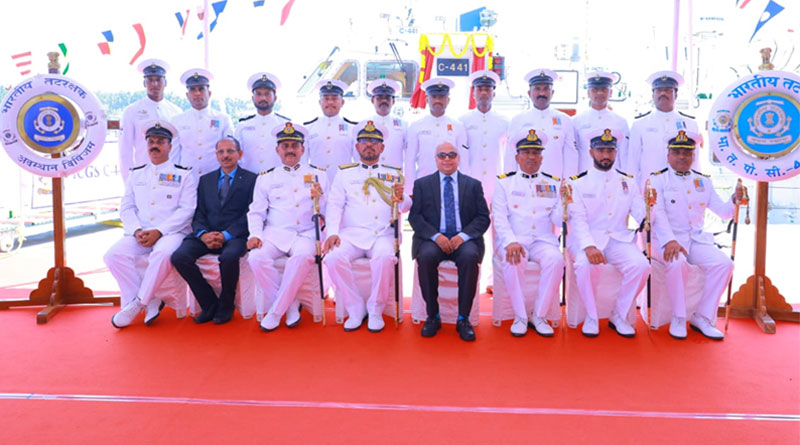 ICG Vessel C-441 Commissioned
