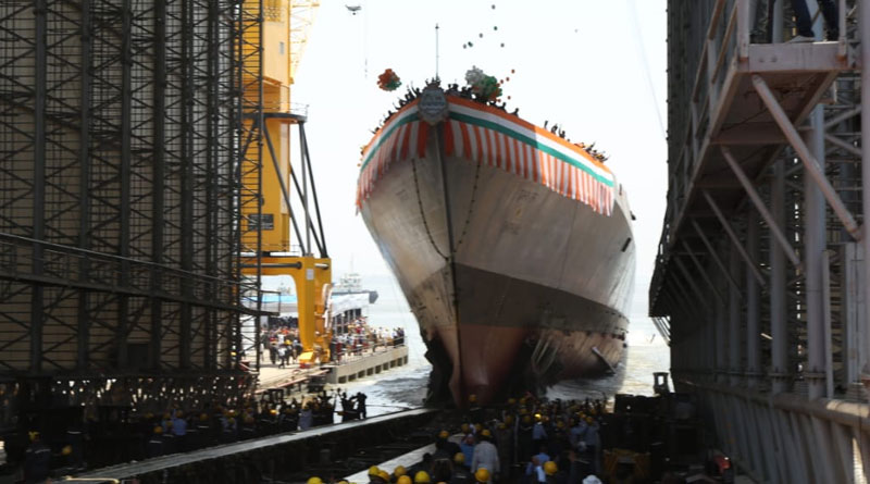 Third Project 15B Destroyer Launched