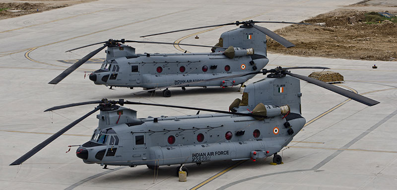 Boeing Chinook CH-47F (I) is now a part of the Indian Air Force's inventory