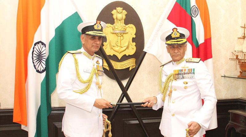 Admiral Karambir Singh Assumes Charge as CNS